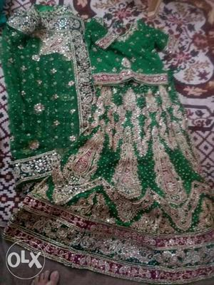 Sharara full work bridal wear wore for 5hrs price