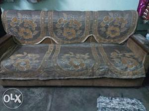 5 seater sofa set with sofa cover. price