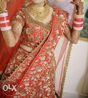 Available on rent. designer heavy bridal wear.