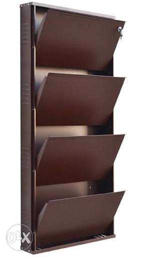 High quality metal shoe rack sleek design