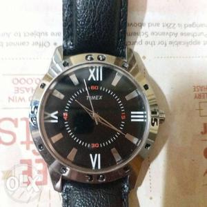 Branded big dial watch(Timex) suitable for boys