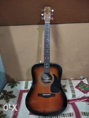 Fender CD60SB Dreadnought Acoustic Guitar