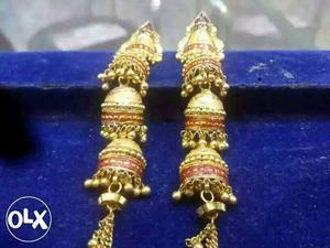Gold Jhumki For Women much More Designs Here! wt-