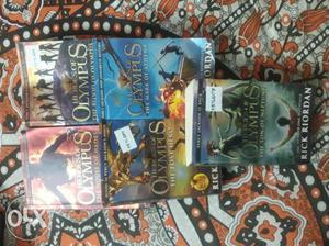 Hero of Olympus Series by Rick Riordan..Full Set