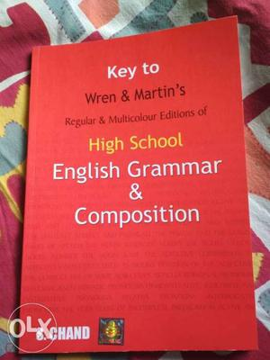Key To Wren & Martin's High School English Grammar &