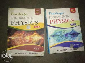 Pradeep's Fundamental Physics Vol. 1 And 2 Books