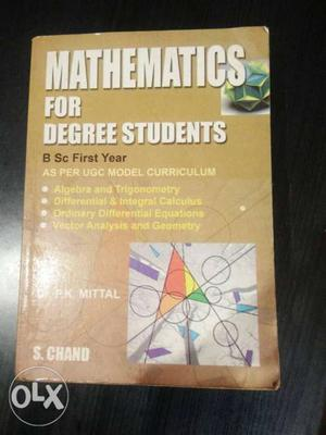 Standerd book for BSc 1st year(as per new