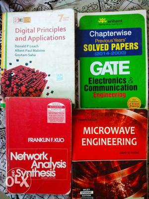 ECE books & GATE material