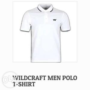 Wildcraft MENS t-shirts available. Both sizes