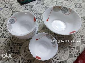 Brand new pudding set. One serving bowl + 6 small