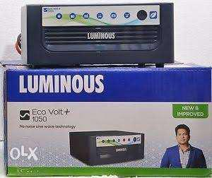 Luminous Inverter + Battery + Trolley Inverter
