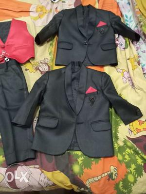 2 Kids complete suit set for 1-2 year old boys  each