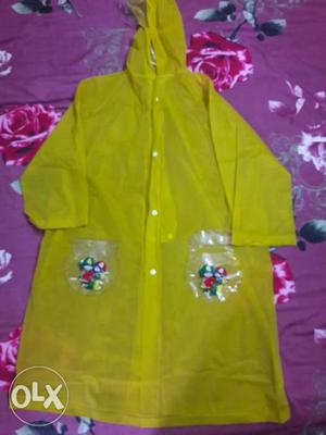 Brand new rain coat for  years girl.