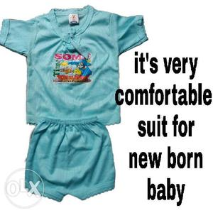 It's very comfortable suit for new born baby and