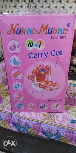 New box pack carrycot. For new born baby.for sell.