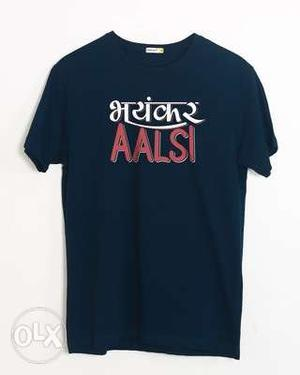 We have all types of fashionable t shirts in