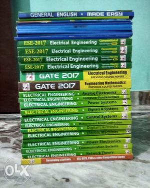 MADE EASY GATE & ESE All Theory Books