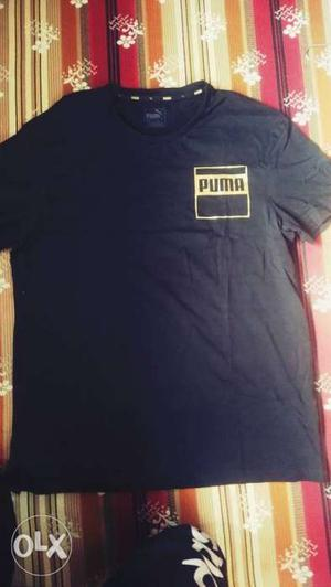 New puma t shirt with tags.. Size m.... Mrp