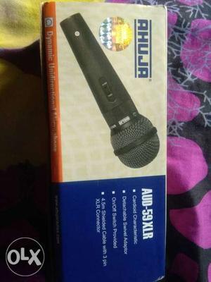 Black Ahuja Wireless Microphone Box