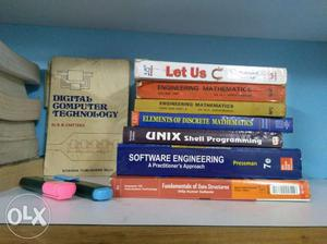 CS/IT 2nd and 3rd semster books in a very good