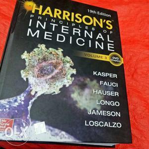 Harisson's Principles Of Internal Medicine Book