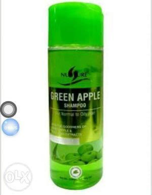 Nurture Green Apple Shampoo is moisturizing our