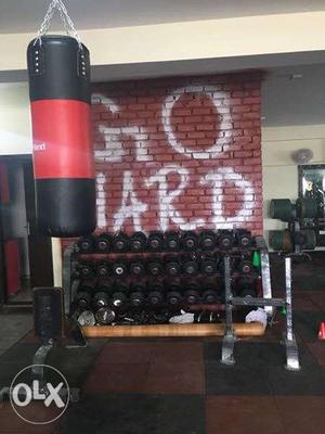 Running gym set up for sale.. include everything