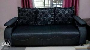 Sofa set with cover used within 3 years