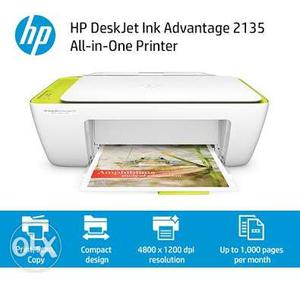 Brand new unused HP  all in one Printer for sale in Goa