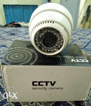 CCTV security camera in good condition.