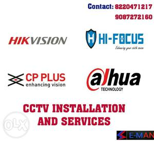 E-man,cctv Installation And Services