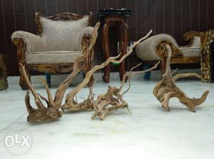 Imported Natural Amazonian Drift wood for aquarium. rs