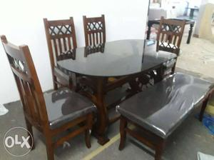 Super dinning table teak wood 100% use best