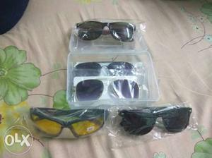 5pc of branded goggles 1pc 150 all pc 650