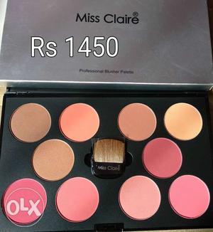 Blush pallet for makeup