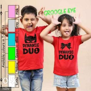 Brother and sister tshirt combo for rakhi book