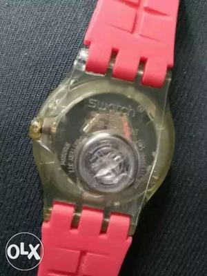 Swatch day date fyber