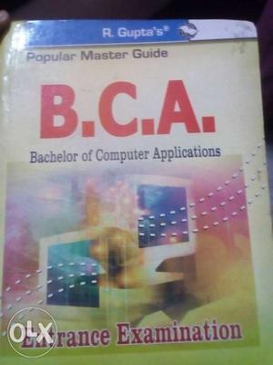 BCA entrance exam preparation book