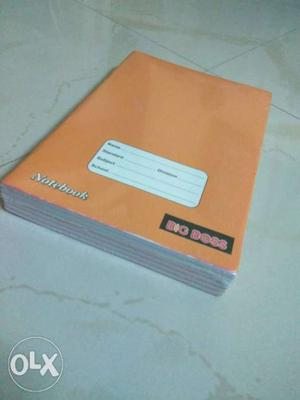 Full scape A4 size book set of 6 pack MRP - 50 PER PIECE