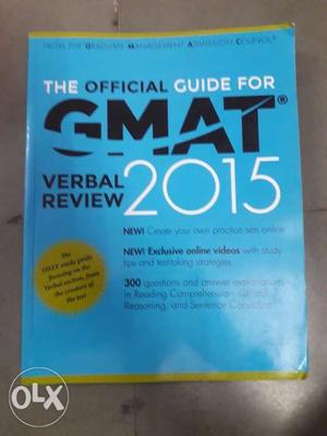 GMAT bookson sale on negotiable prices