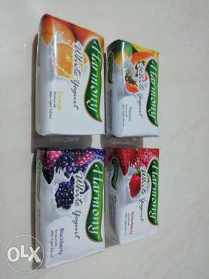 Harmony Soap At Lowest prices 4 flavours Papaya,