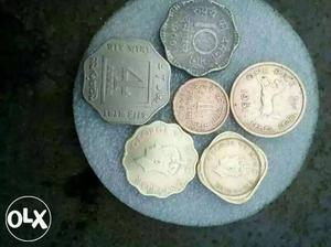 Six antic and very old coin at very low price.