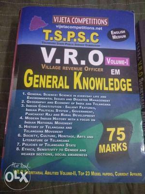 Village Revenue Officer General Knowledge Book