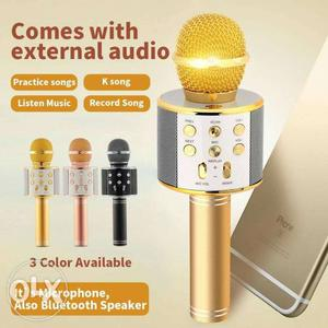 Wireless Bluetooth WS-858 Microphone MIC