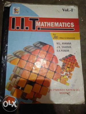 IIT Mathematics By M.L. Khanna Book