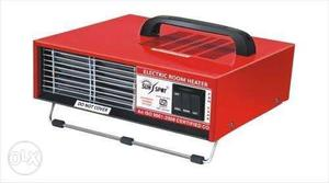 Red And Black Electric Room Heater