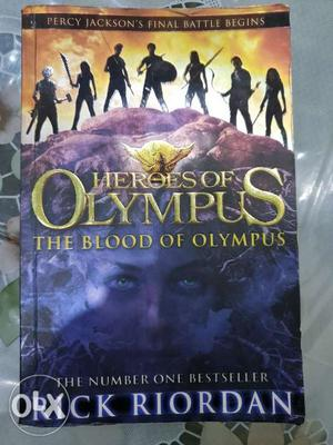 The blood of olympus mint condition
