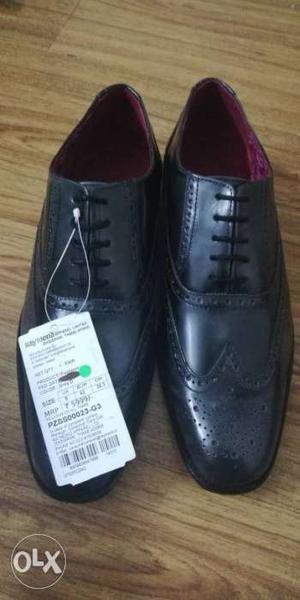 Brand new Park Avenue formal shoe, MRP- size 8.