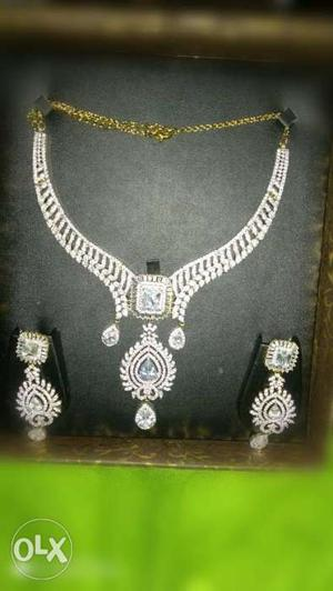 All New Necklace And Earrings