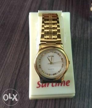 Brand new Quartz Sartime watch for sale.